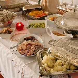 Buffet per Natale in Finlandia