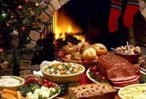 Pranzo di Natale nel mondo