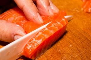 tipi di taglio salmone fresco