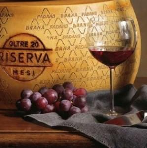 come abbinare Grana Padano e vini