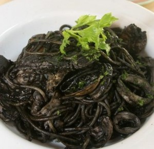 ricetta pasta al nero di seppia