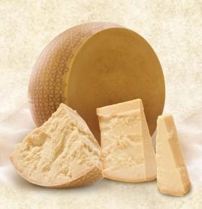 ingredienti e nutrienti del Grana Padano