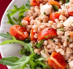 ricette dell'insalata di farro