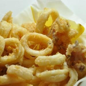 fare calamari fritti