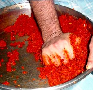 cig kofte preparazione ottomana