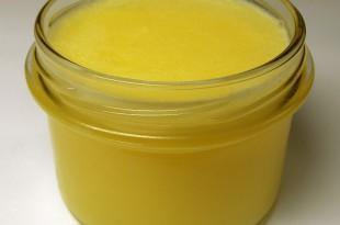 burro chiarificato fatto in casa