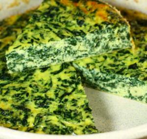 spinaci frittata
