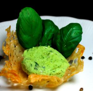 mousse basilico