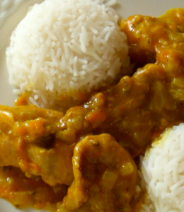 pollo curry