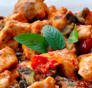 pollo olive