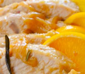 tacchino arancia