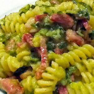 zucchine pancetta