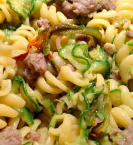 pasta zucchine salsiccia