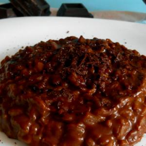 risotto al cioccolato