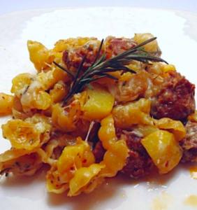 patata salsiccia