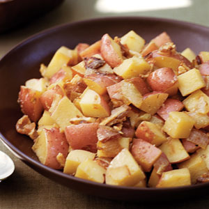 bacon e patate