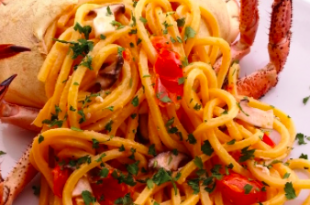 linguine granchio