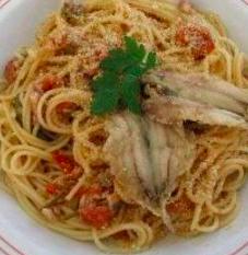 spaghetti alici fresche