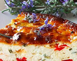 tortino ricotta e peperoni