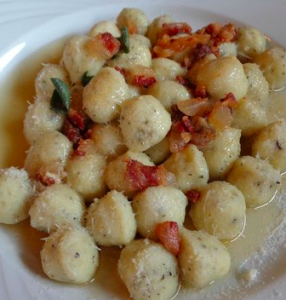 gnocci salvia pancetta