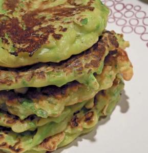 pancake asparagi