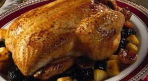 pollo ripieno arrosto