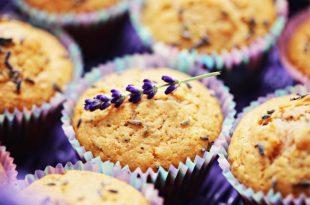 muffin alla lavanda