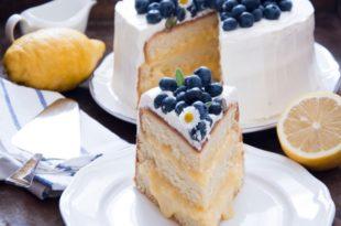 torta limone e lavanda