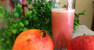 Succo di melograno e mela, la ricetta
