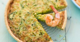 Torta salata pistacchi e gamberi la ricetta