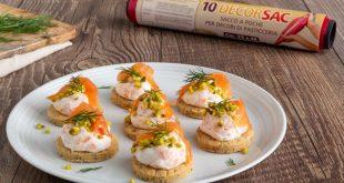 Biscotti al salmone, la ricetta