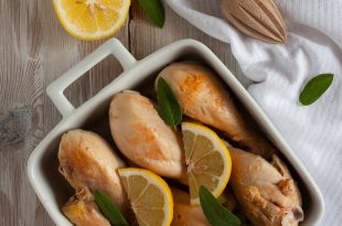 pollo zenzero e limone