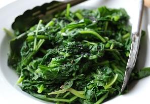 scelta e cottura spinaci