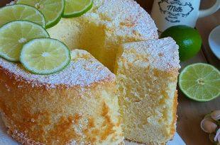 La ricetta del ciambellone al lime