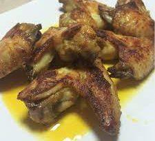 ali di pollo al curry